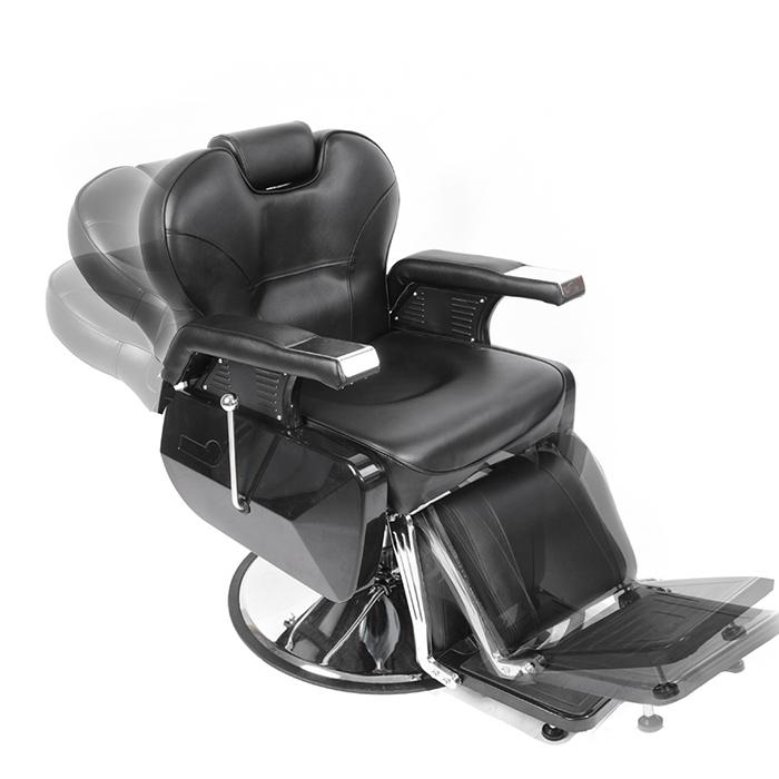 Modern Barber Chair Salon Hydraulic Reclining For Hairdressing Tattoo  Shaving