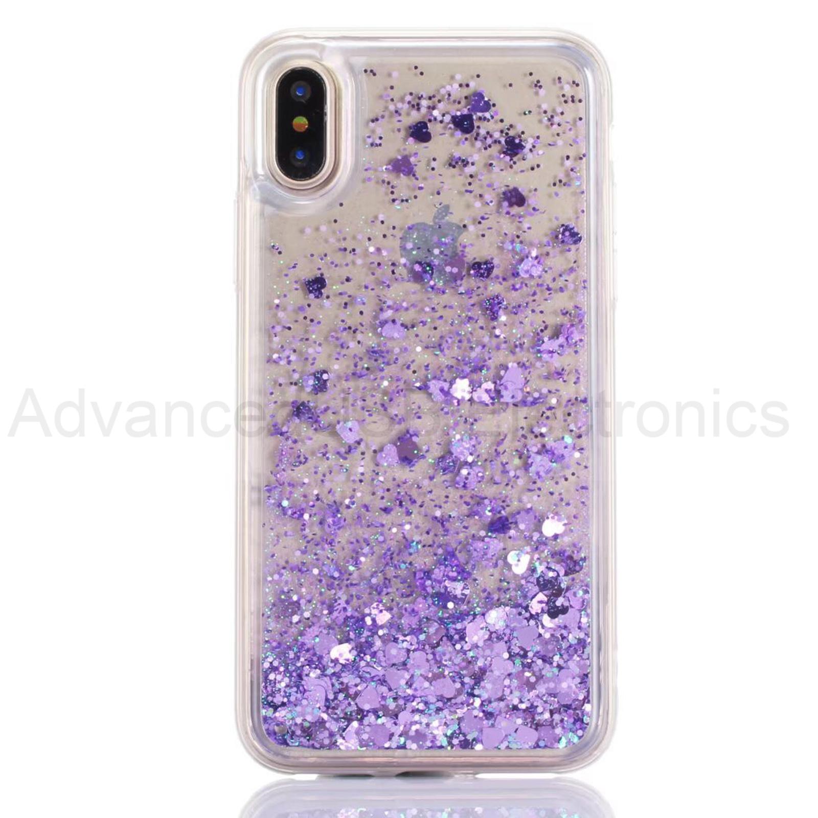 Quicksand-dynamique-paillettes-liquide-doux-TPU-housse-pour-iPhone-et-Samsung