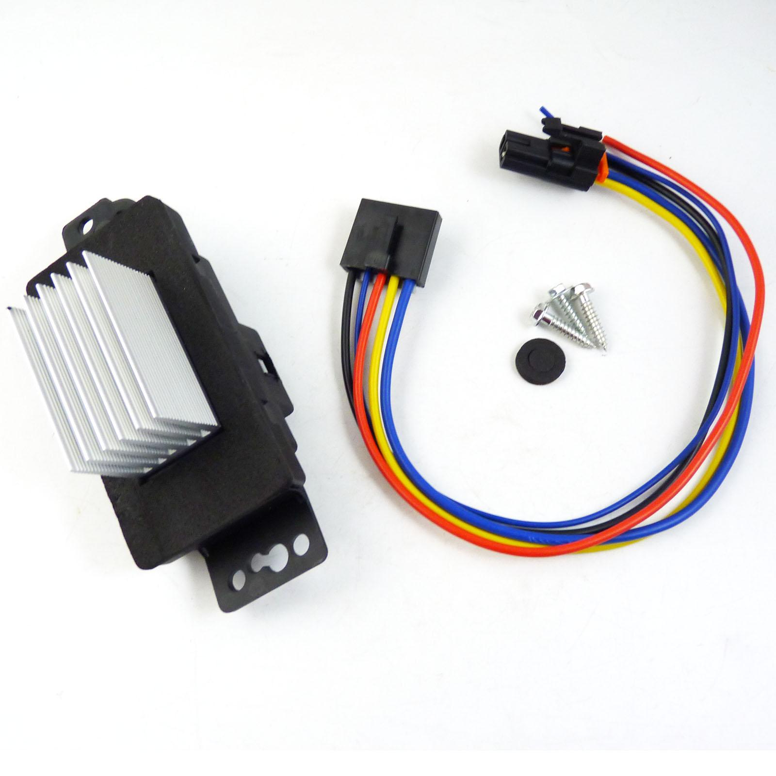 Chevy Impala Blower Motor Resistor: HVAC Blower Motor Resistor Kit For Pontiac Chevrolet