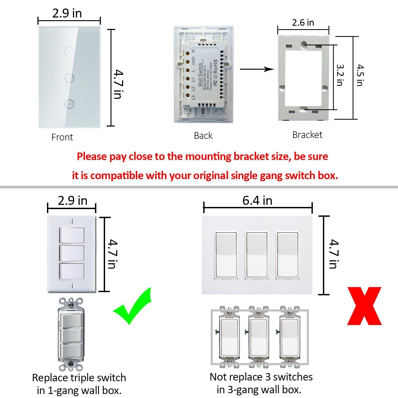 Us Switch Wiring Wire Center Electric Tarp Diagram 3 Gang Box Enthusiast Diagrams U2022 Rh Rasalibre Co Network 5 Way