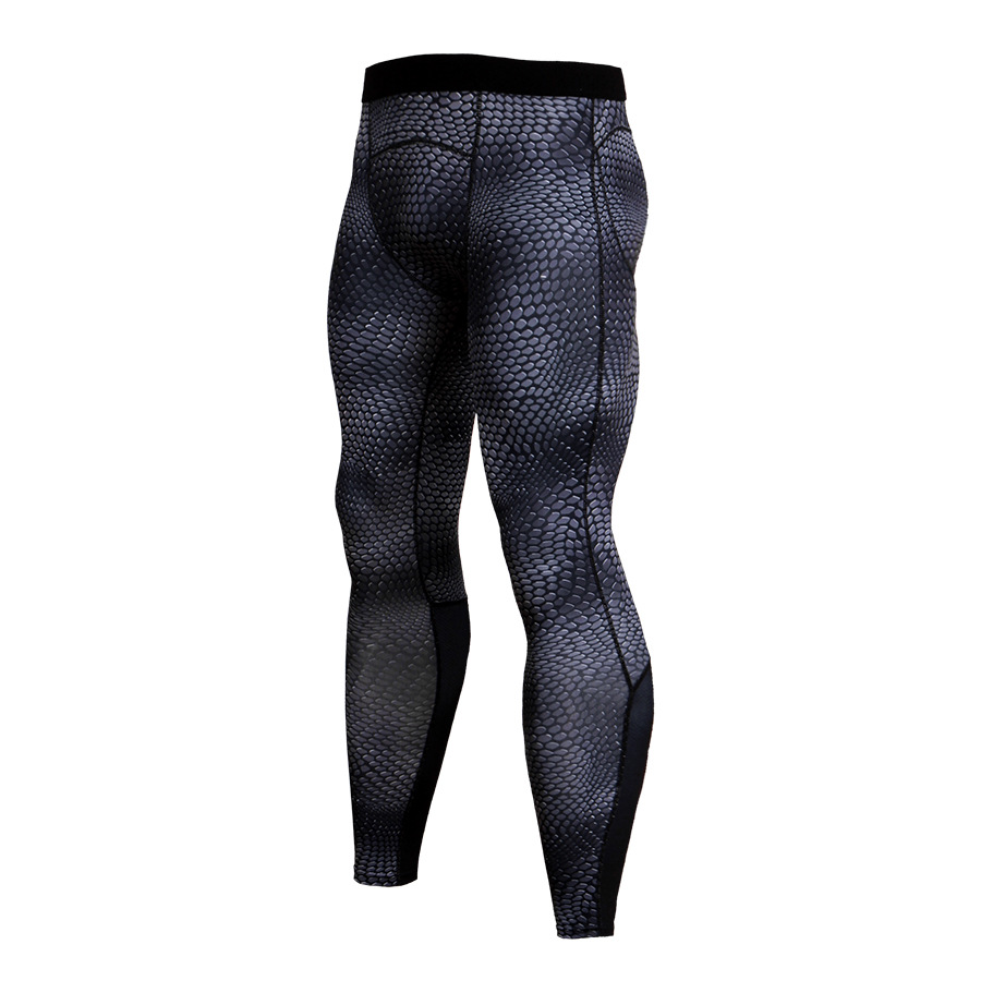 Men-Apparel-Compression-Tight-Base-Layer-Pants-Long-Leggings-Gym-Sports-Trousers thumbnail 25