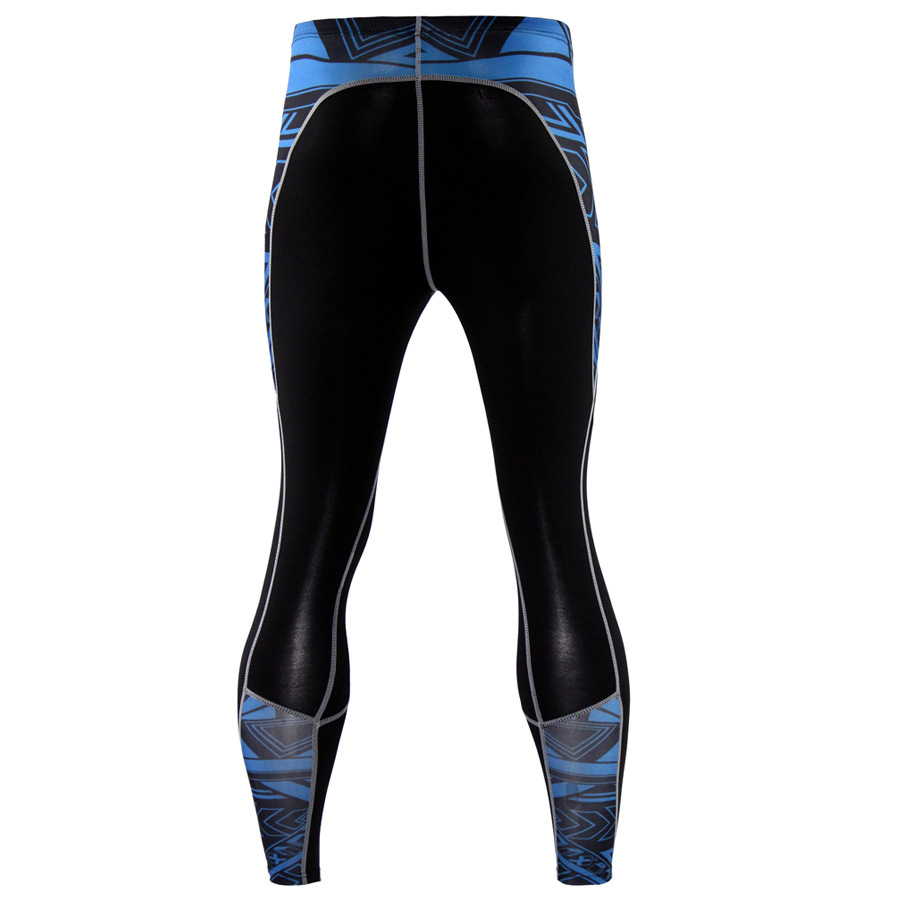 Mens-Compression-Pants-Running-Basketball-Tights-Workout-Gym-Base-Layer-Spandex thumbnail 22