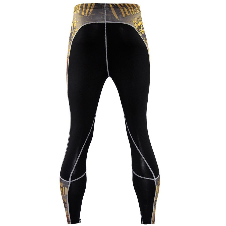 Mens-Compression-Pants-Running-Basketball-Tights-Workout-Gym-Base-Layer-Spandex thumbnail 18