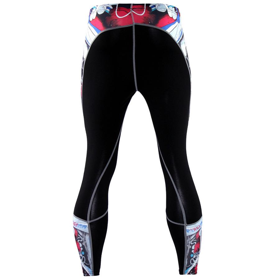 Mens-Compression-Pants-Running-Basketball-Tights-Workout-Gym-Base-Layer-Spandex thumbnail 26