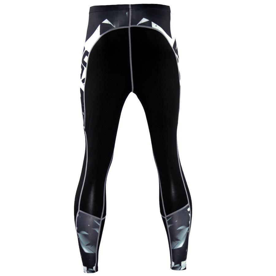 Mens-Compression-Pants-Running-Basketball-Tights-Workout-Gym-Base-Layer-Spandex thumbnail 24