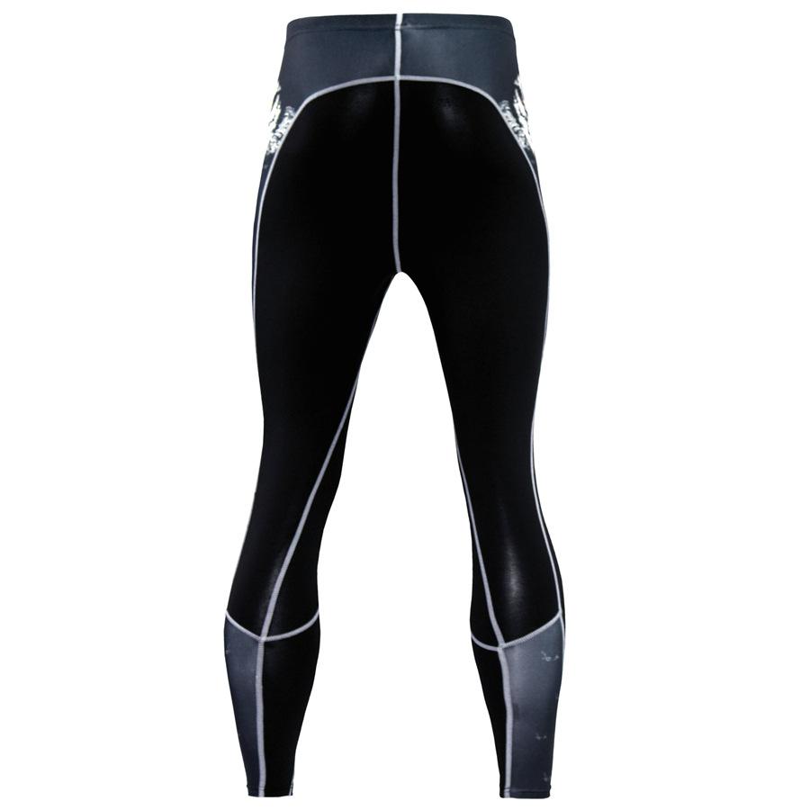 Mens-Compression-Pants-Running-Basketball-Tights-Workout-Gym-Base-Layer-Spandex thumbnail 14