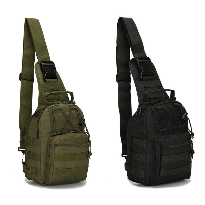 Men Shoulder Messenger Bag Tactical Backpack Sling Chest Molle Pack Military Bag