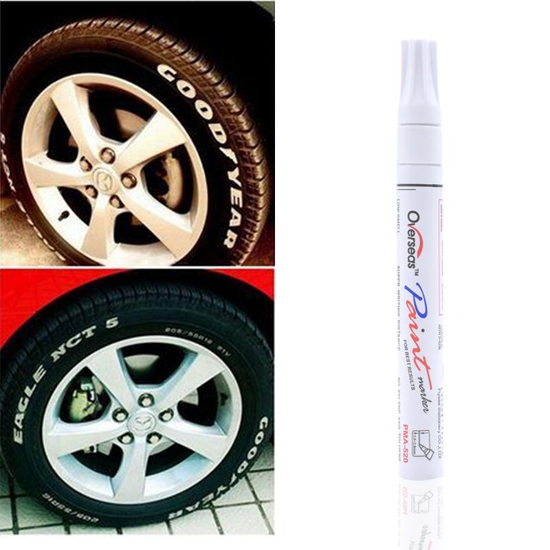 Permanent Tyre Rubber Wood Metal Paint Oil Pen Tyre Marker Creative Marker