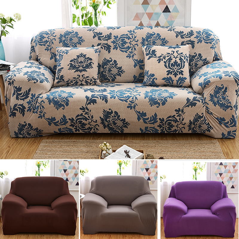 Phenomenal Details About 1 2 3 4 Seat Stretch Elastic Fabric Chair Sofa Covers Couch Protector Slipcover Theyellowbook Wood Chair Design Ideas Theyellowbookinfo