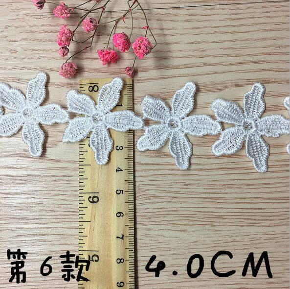 3-Yards-embroidery-lace-Flowers-decoration-Tablecloths-craft-Sewing-Clothing