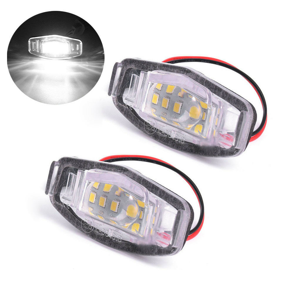 1Pair 18 LED License Plate Light Direct For Acura TL TSX