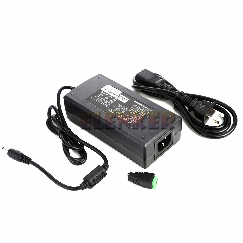 Quality 12v 10a 120w Dc Power Adapter Supply Transformer Rgb Led Strip Pc Cctv