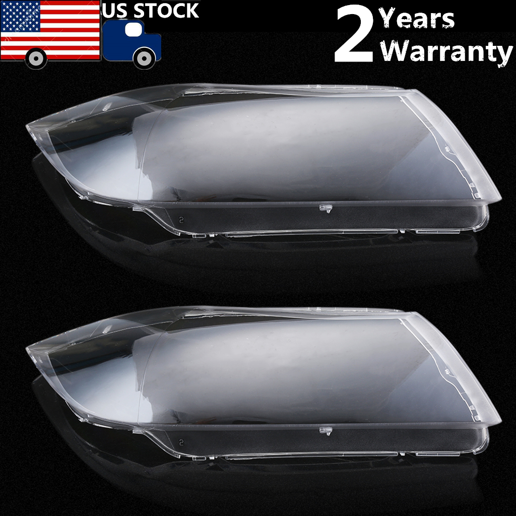 2004 2007 headlight lens plastic shell cover fit for bmw e90 sedan e91 touring v