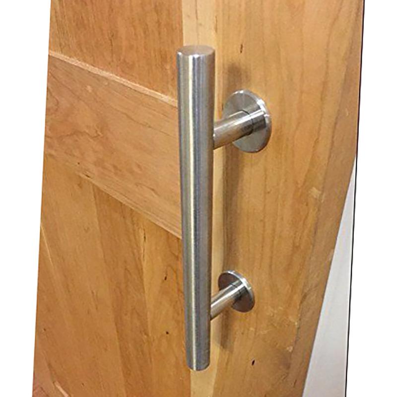 Stainless steel sliding barn door pull handle wood door for 1180 2 door pull