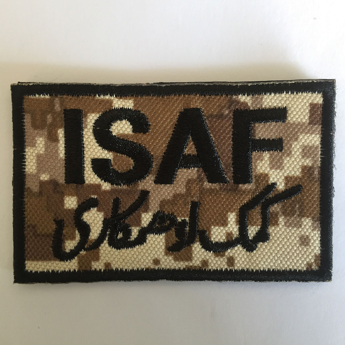LIKE A BOSS TACTICAL USA ARMY MORALE USA ISAF MILITARY BADGE SWAT HOOK PATCH