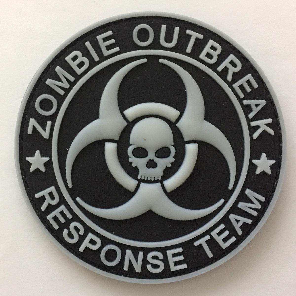 ZOMBIE Hunter Resident Evil Umbrella Responde Team Aufn/äher Patch Abzeichen