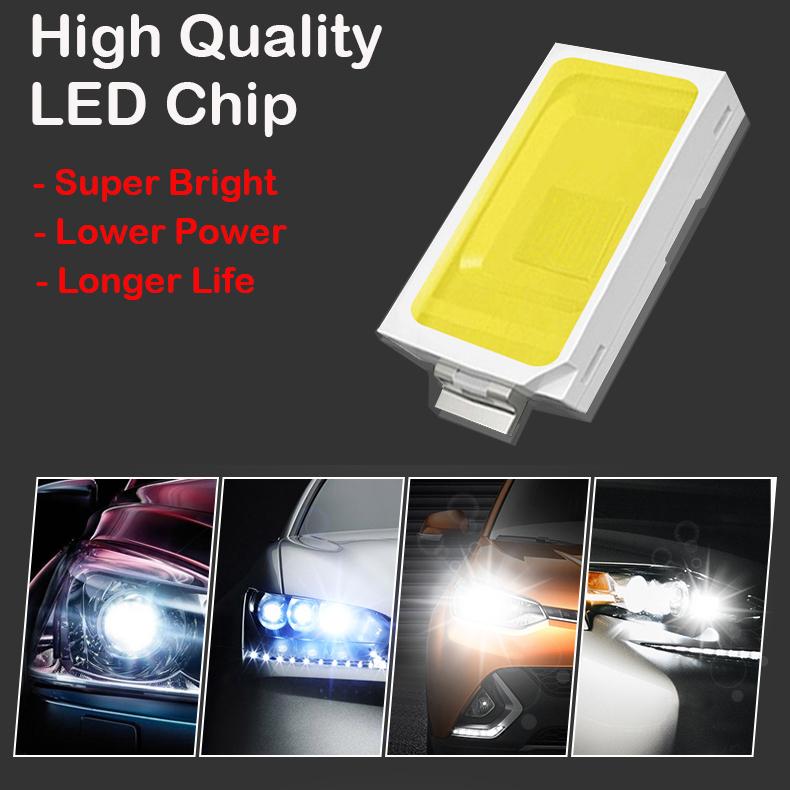 WHITE LED INTERIOR LIGHT SET KIT BULBS For VOLKSWAGEN POLO V MK5 6R 2006-2015
