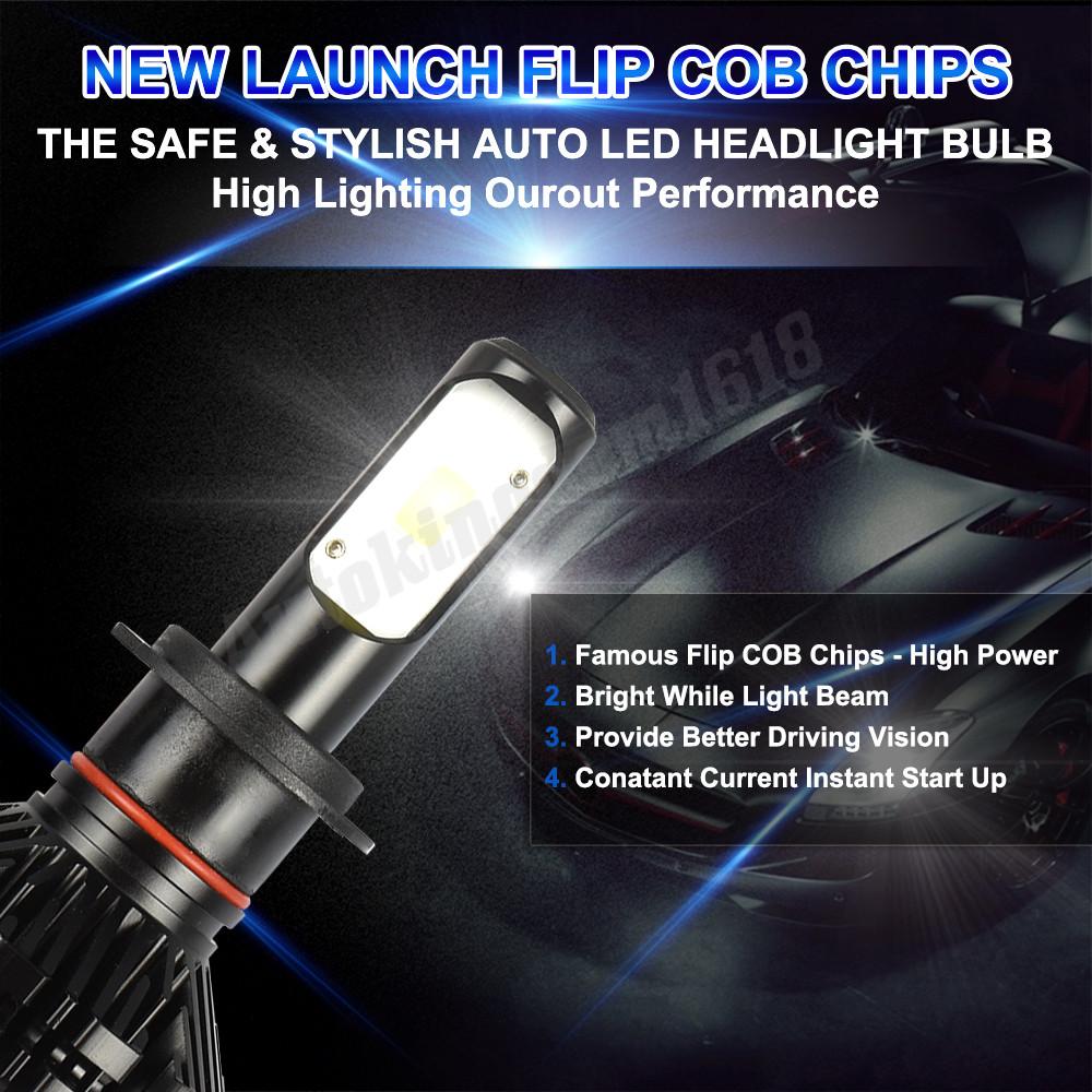 9012 HIR2 Headlight LED Hi Lo Beam Bulb For Chrysler 200