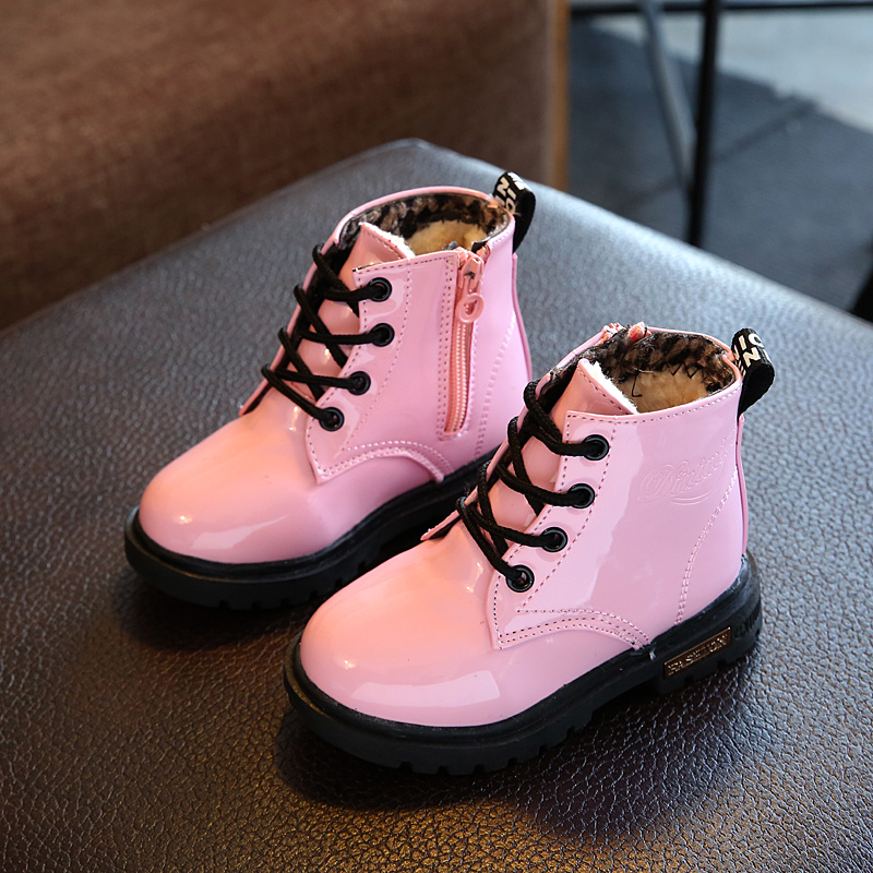 c8a7a44314 Classic Toddler Baby Martin Boots Children Kids Girls Cool Shoes Snow Boots  Size
