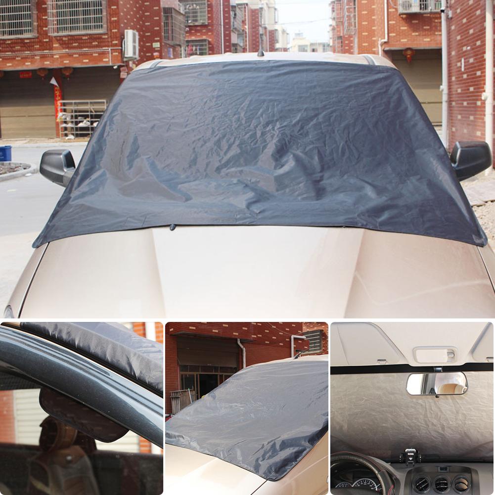 magnet frostschutz schnee frost auto windschutzscheibe. Black Bedroom Furniture Sets. Home Design Ideas