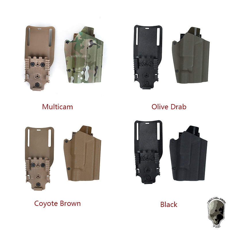 TMC Tactical G17 With Lamp X300 Drop Adapter Kydex Belt Holster Quick Release