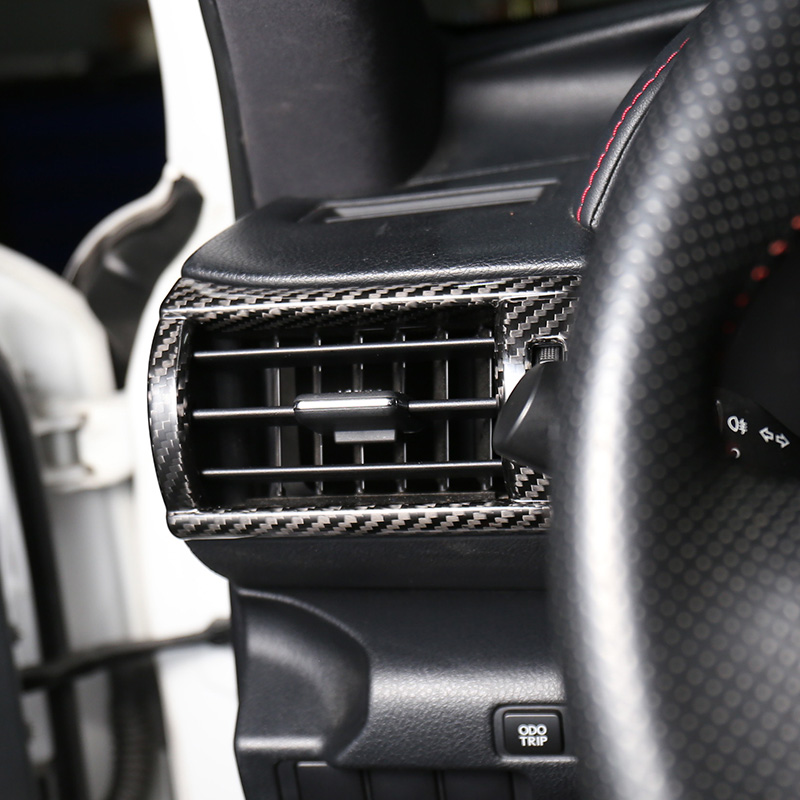 Carbon Fiber Center Air Vent Outlet Trim For LEXUS IS250//300//350//200 2014-2018