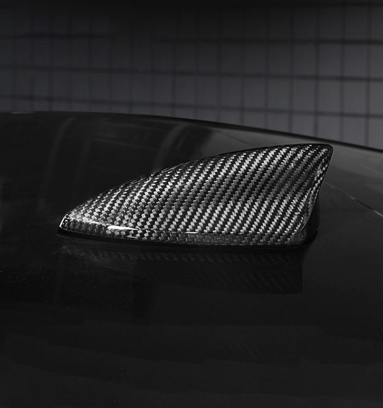 For Cadillac ATS 2013-2019 Carbon Fiber Shark Fin Antenna