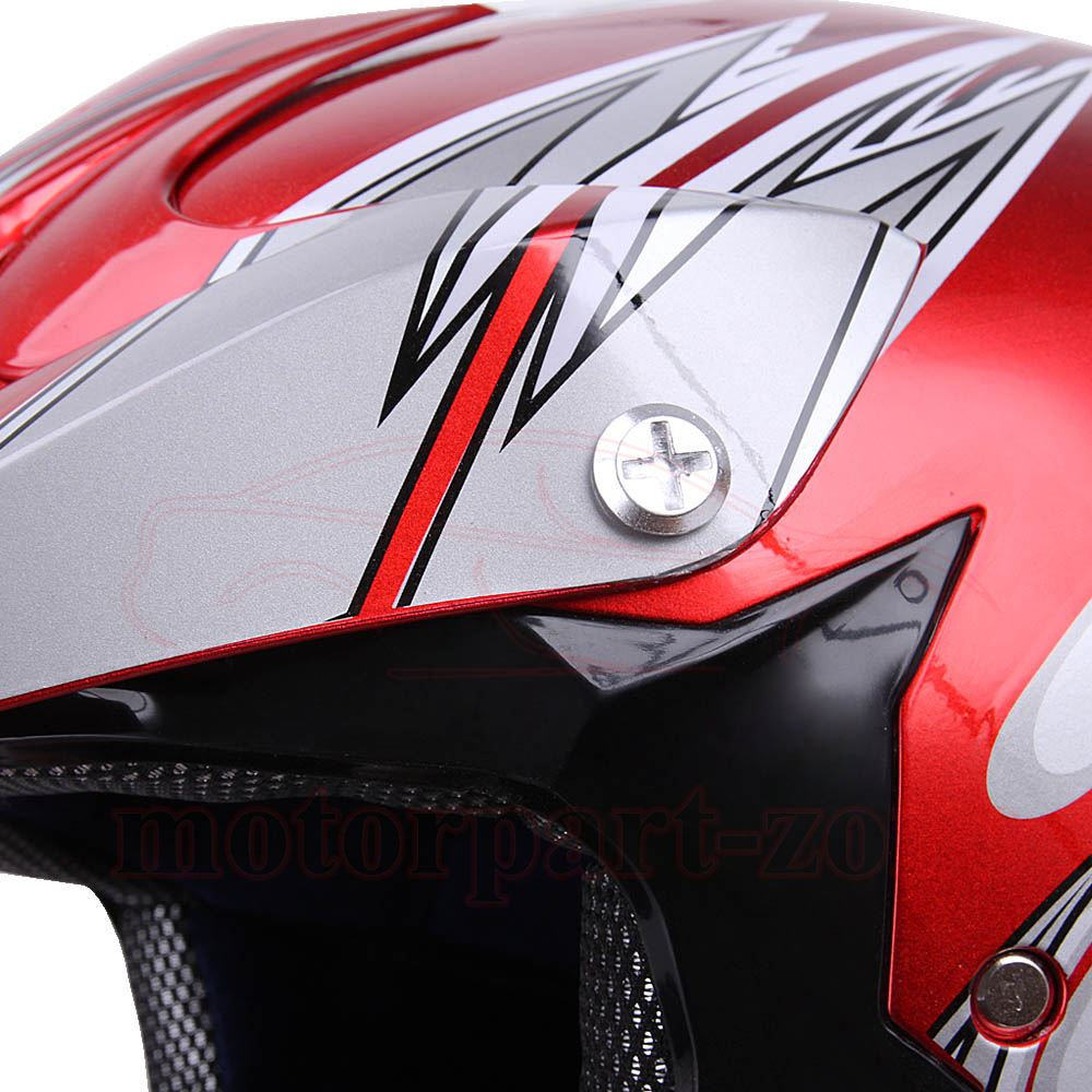 DOT Adult Motocross Helmet Motorcycle ATV MX BMX Dirt Bike Women Offroad Enduro