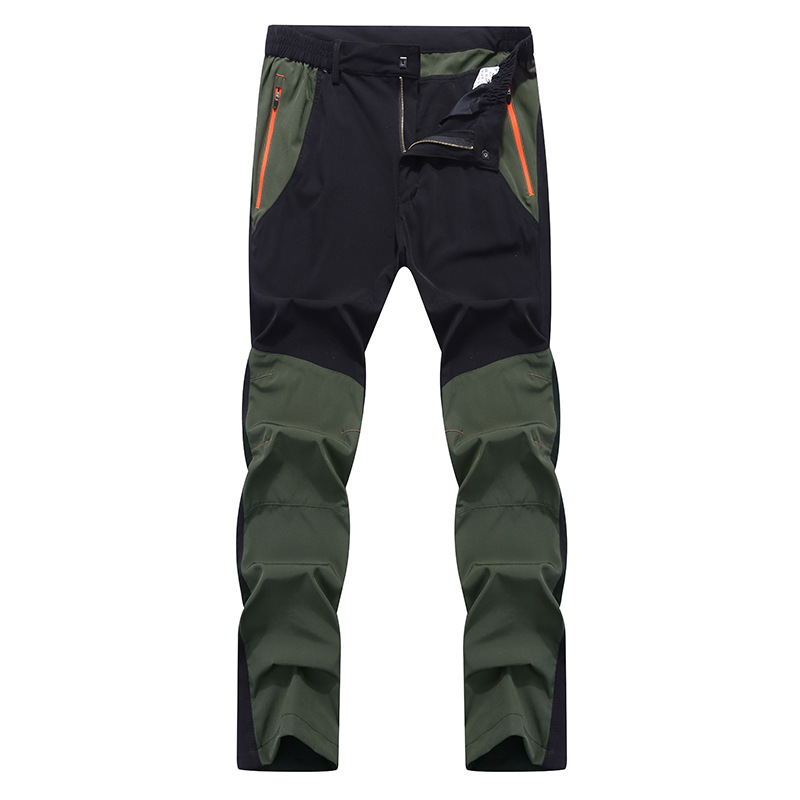 Mens Waterproof Outdoor Hiking Climbing Combat Trousers Tactical Fishing Pant