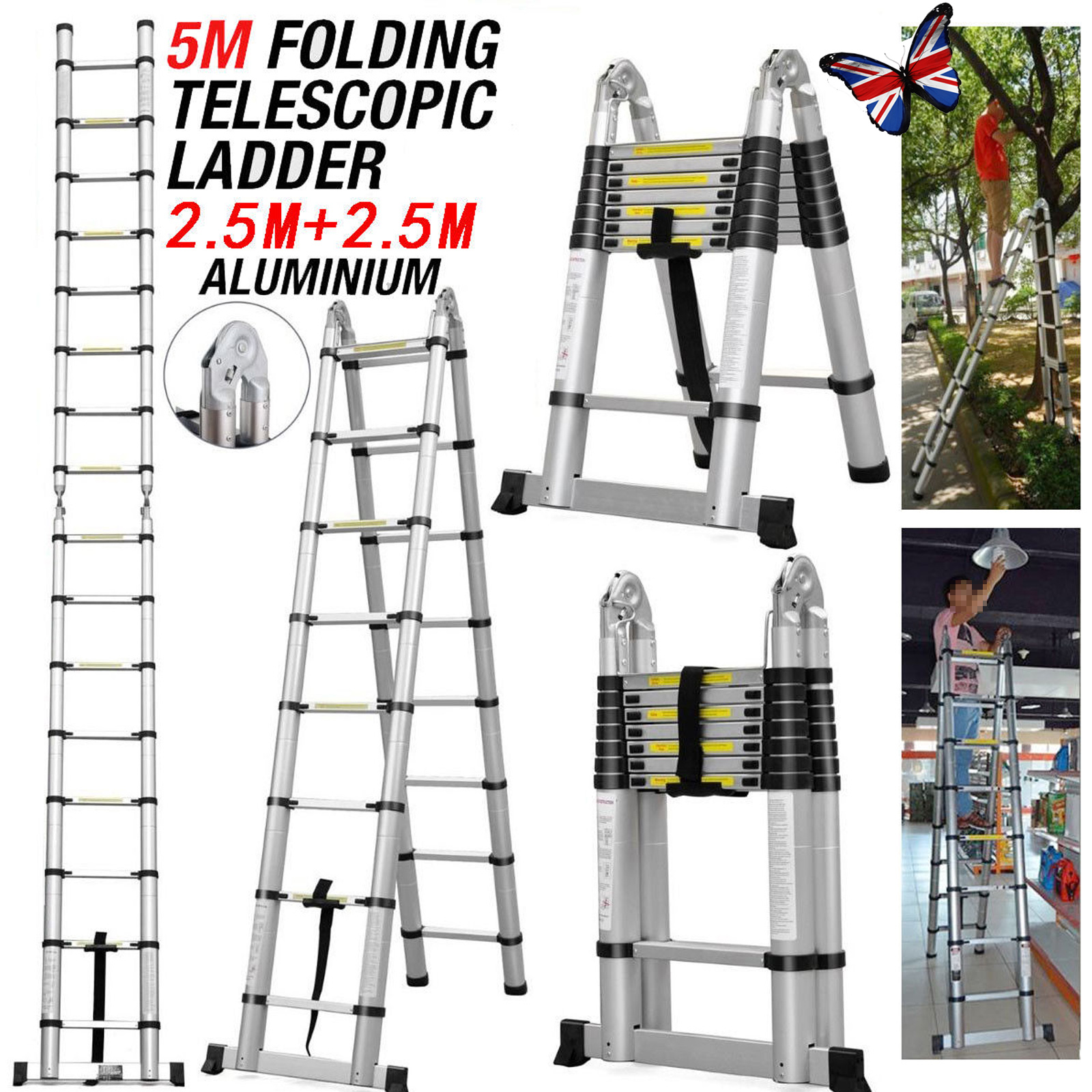Little Giant Mxz Telescoping A Frame Ladder - Best Ladder 2018
