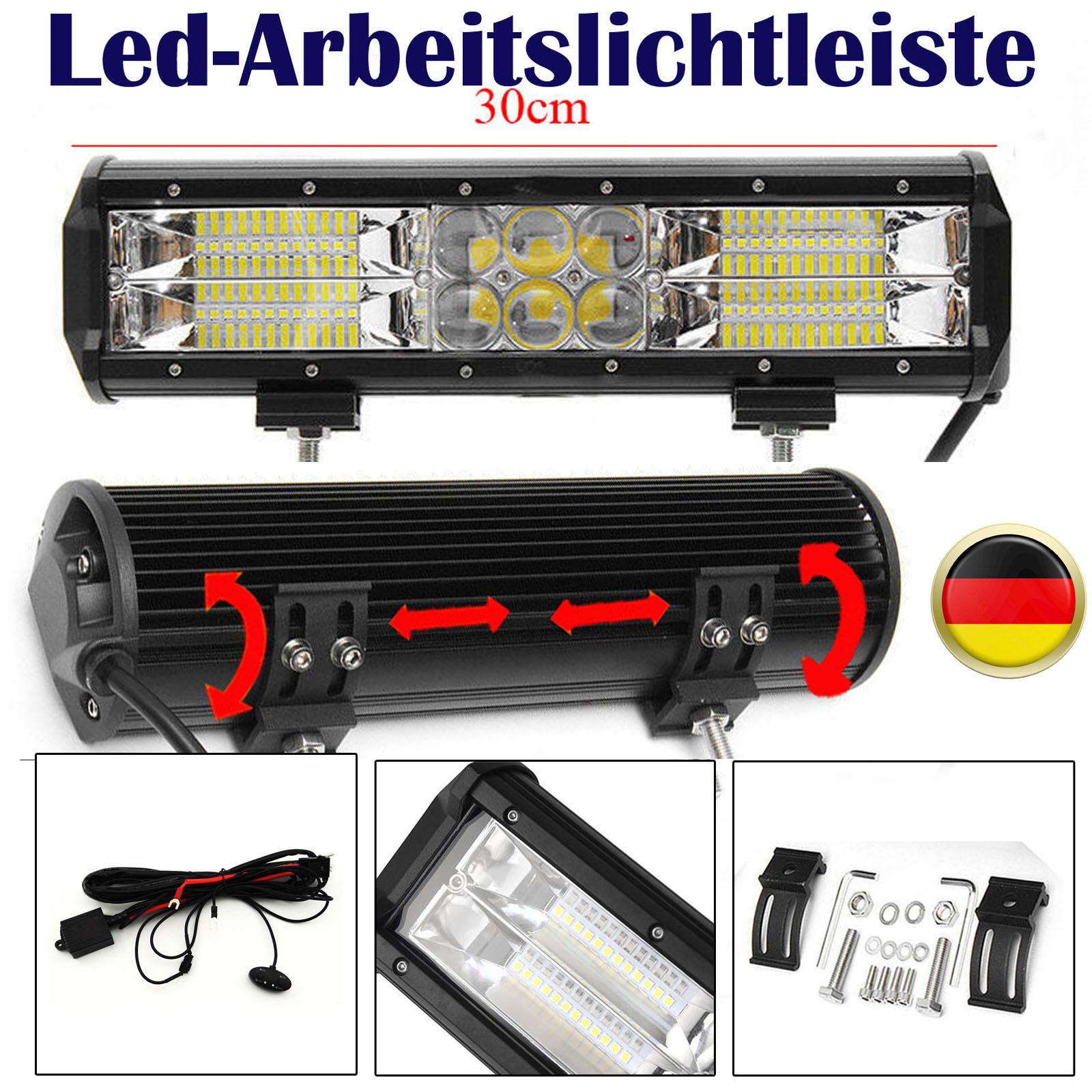 240W LED Arbeitsscheinwerfer SUV Auto LKW Jeep Lichtbalken 12V 24V + ...