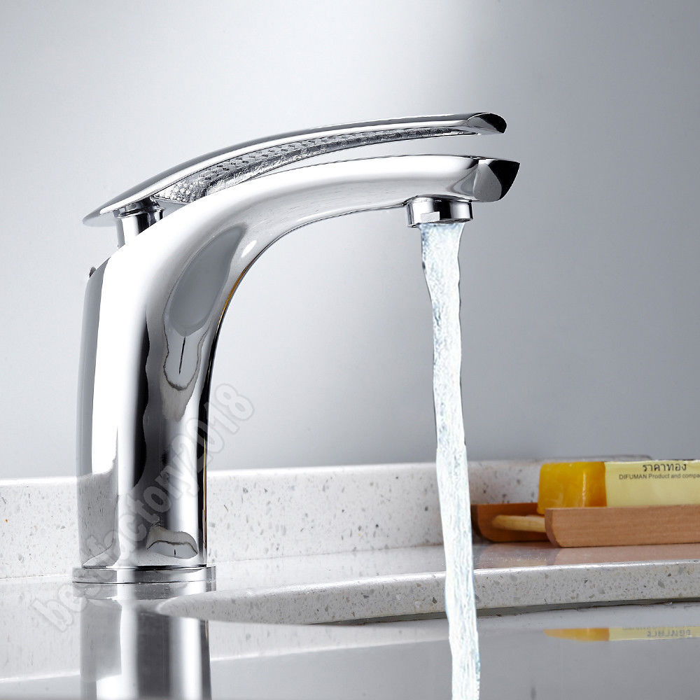Details zu Waschtischarmatur Wasserhahn Mischbatterie Einhandmisch  Badezimmer Bad