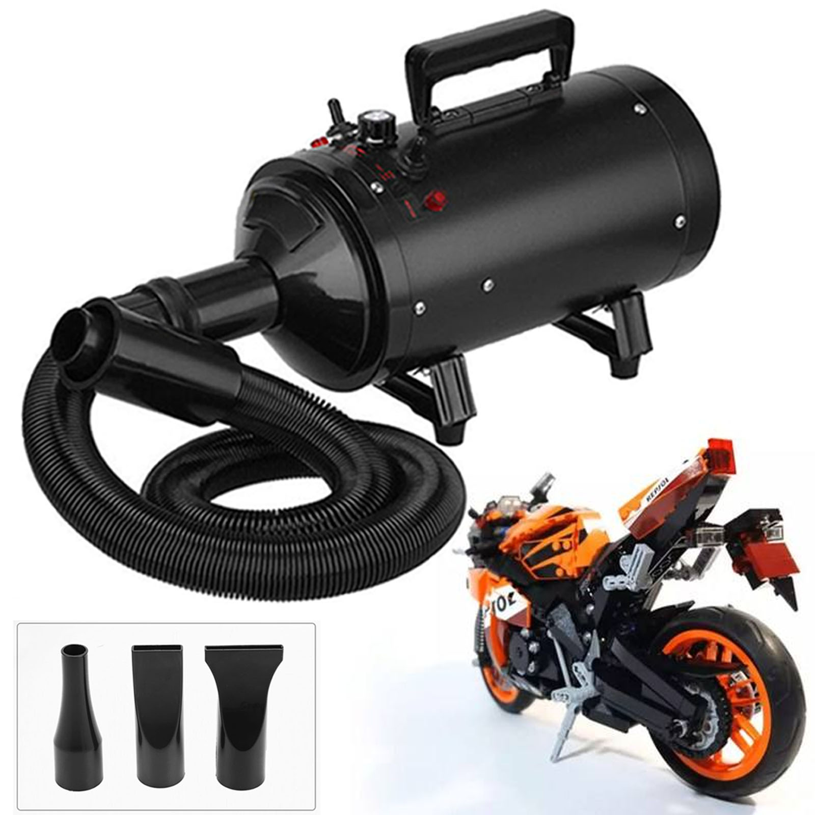 turbo blaster motorbike dryer motorcycle bike car snow pet blower