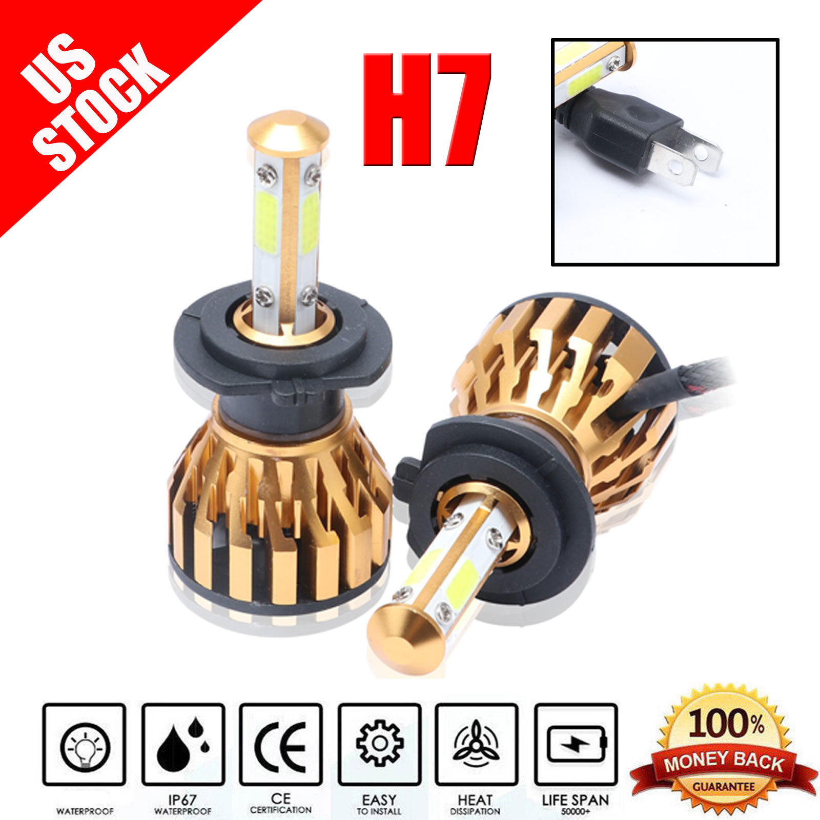 EMERGENCY BULB KIT H1 H4 H7 for MITSUBISHI OUTLANDER