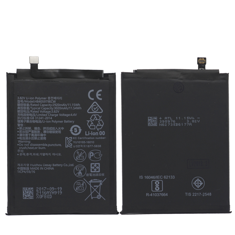 cheapest various colors 100% high quality Details about Replacement Battery HB405979ECW For Huawei Enjoy 6S Honor 6C  / Y5 2017 2920mAh