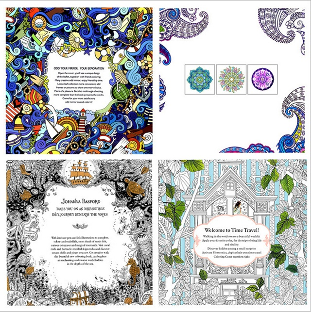 Whoelsale English Version Of The Secret Garden Coloring Book Adult Kids Gifts