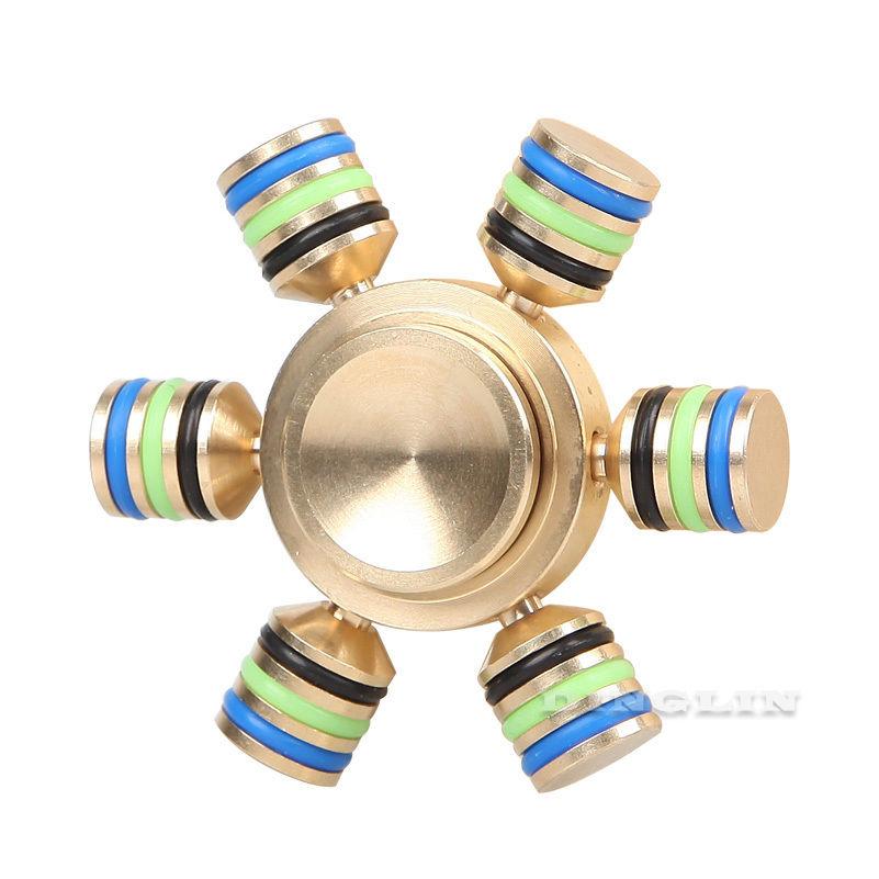 Gyroscope Brass Fingertip Hand Spinner Gyro Torque Gyro Fid