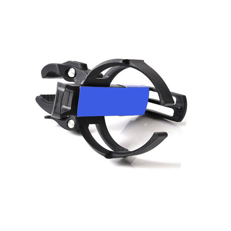 Quick Release Clamp MTB Bicycle Plastic Water Bottle Holder Cage Black