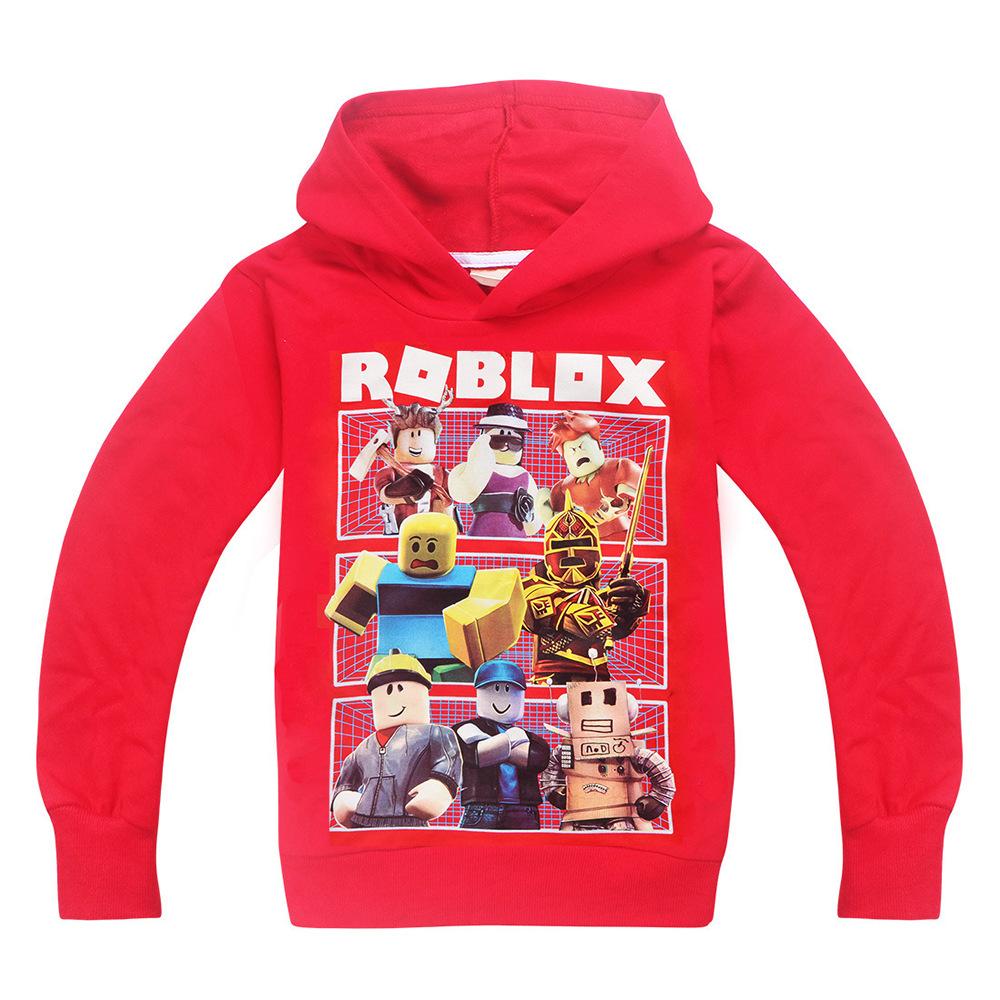 ROBLOX Mädchen Jungen Kinder Baumwolle Frühling Kapuzen Sweatshirt Hoodies