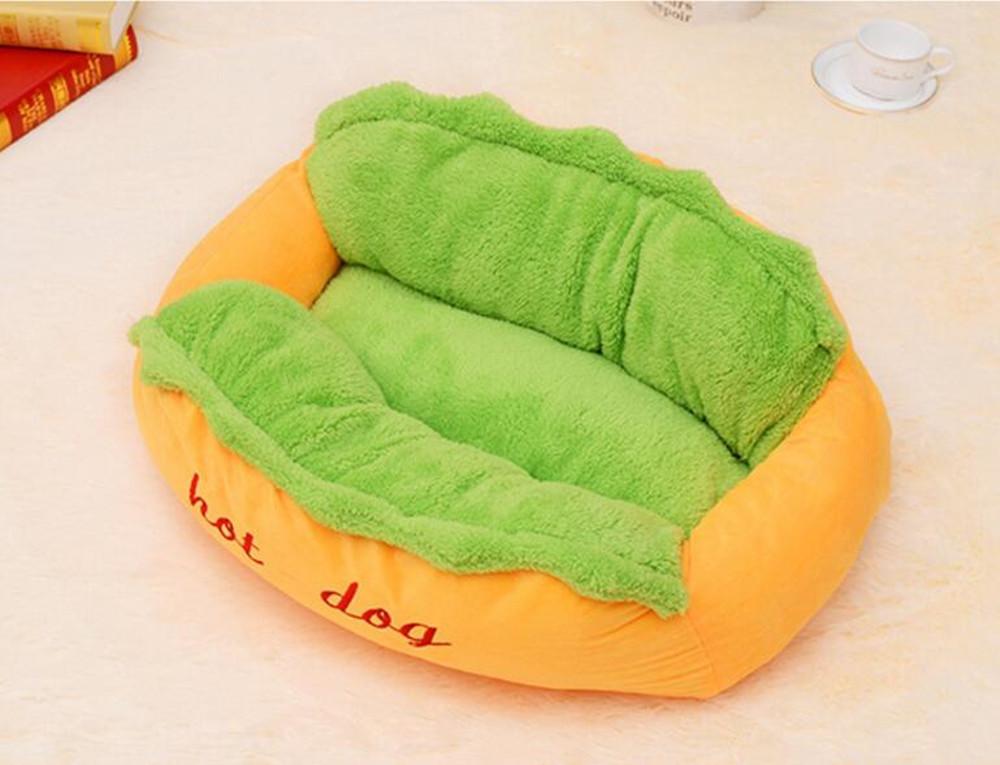 hot dog pet schlafen bett nest zwinger hund katzen nest h hle pet supplies ebay. Black Bedroom Furniture Sets. Home Design Ideas