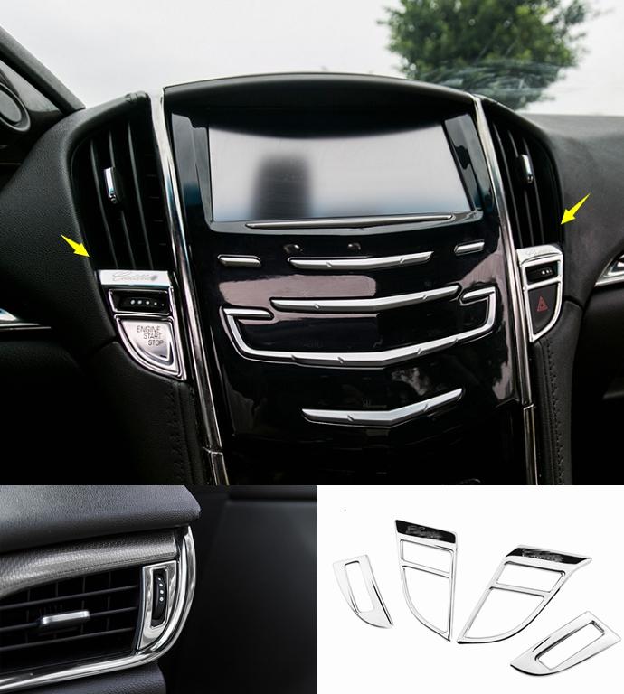 2018 Cadillac Ats Interior: For Cadillac ATS 2014-2018 Silver Steel Interior Air