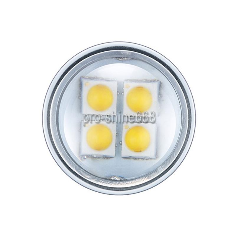 Car 1156 BA15S P21W 100W 7000K White 20SMD LED Daytime Running Lights DRL 2PCS
