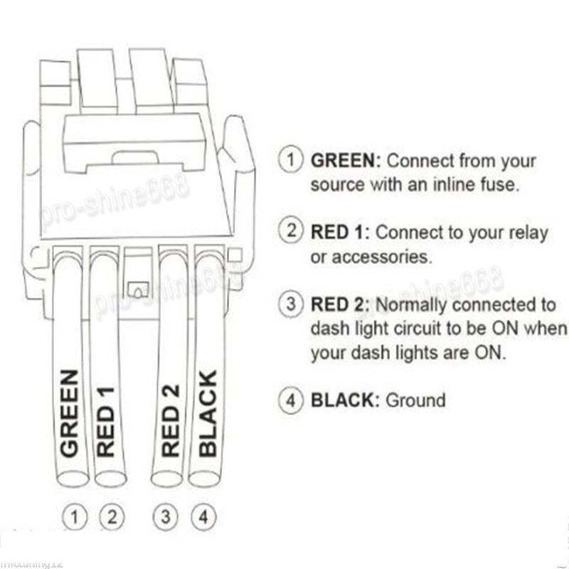 12v Car Push Switch Blue Led Bar Fog Light For Toyota Fj