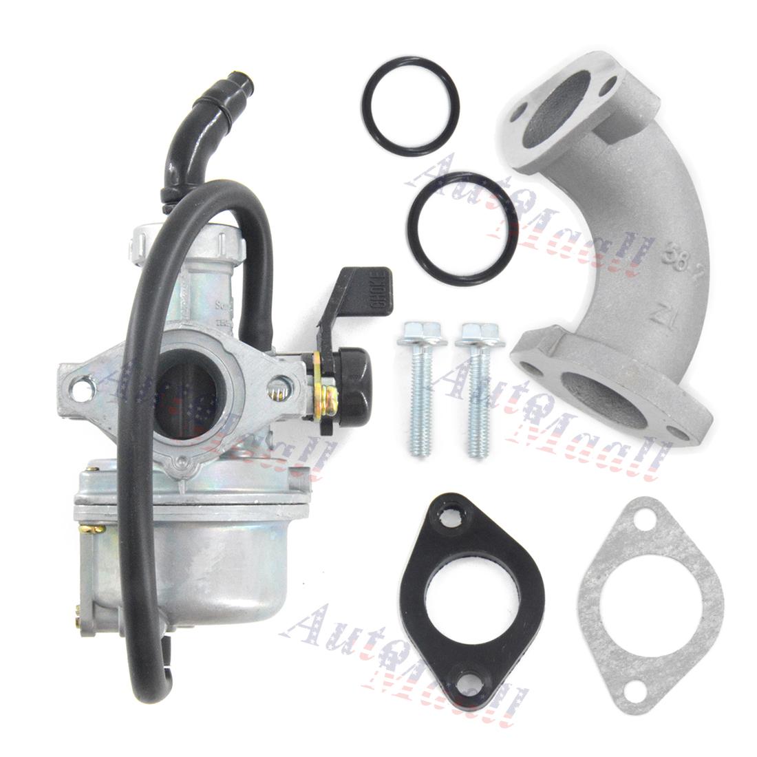 Carburetor 22mm Intake for HONDA CRF70F 2004-2012 XR70R 1998-2003 carb