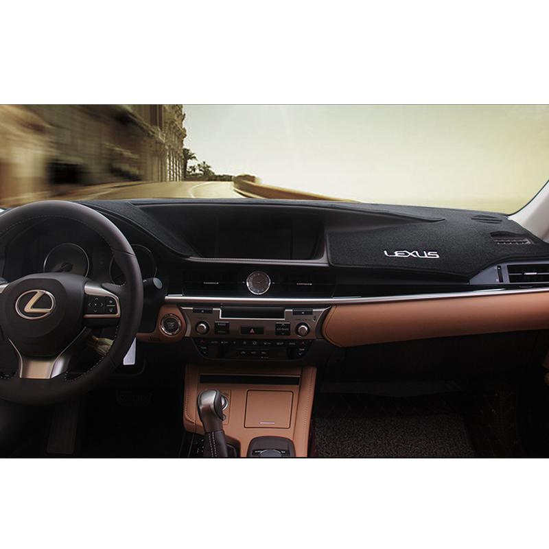 DashMat Dash Mat Cover Dashboard Car Interior Pad Fit For LEXUS ES350 ES250