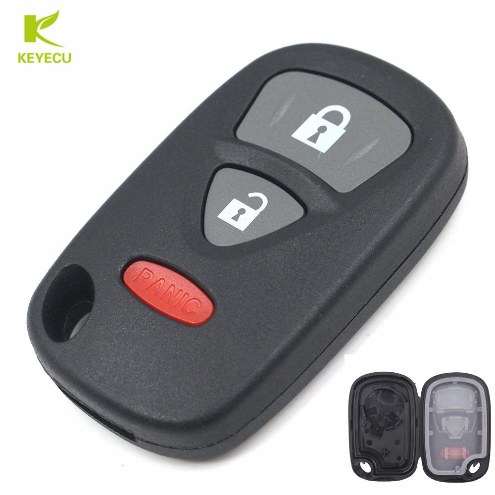2x Fits 1998-2003 Lexus ES300 Remote Shell Case Use Existing Cut Key Blade