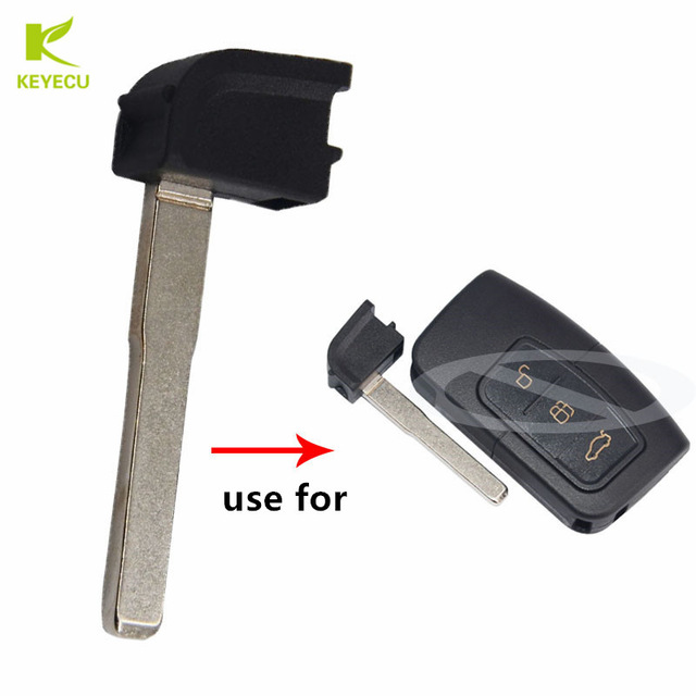 Key blade for Ford Focus C MAX S MAX Mondeo keyless entry remote HU101
