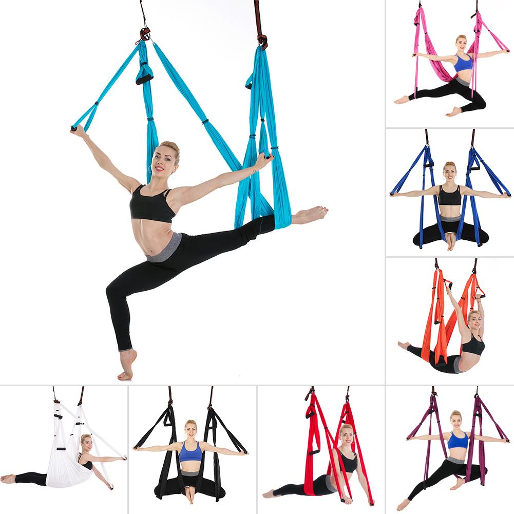 Aerial Yoga Trapeze Swing Sling Hammock Indoor Anti