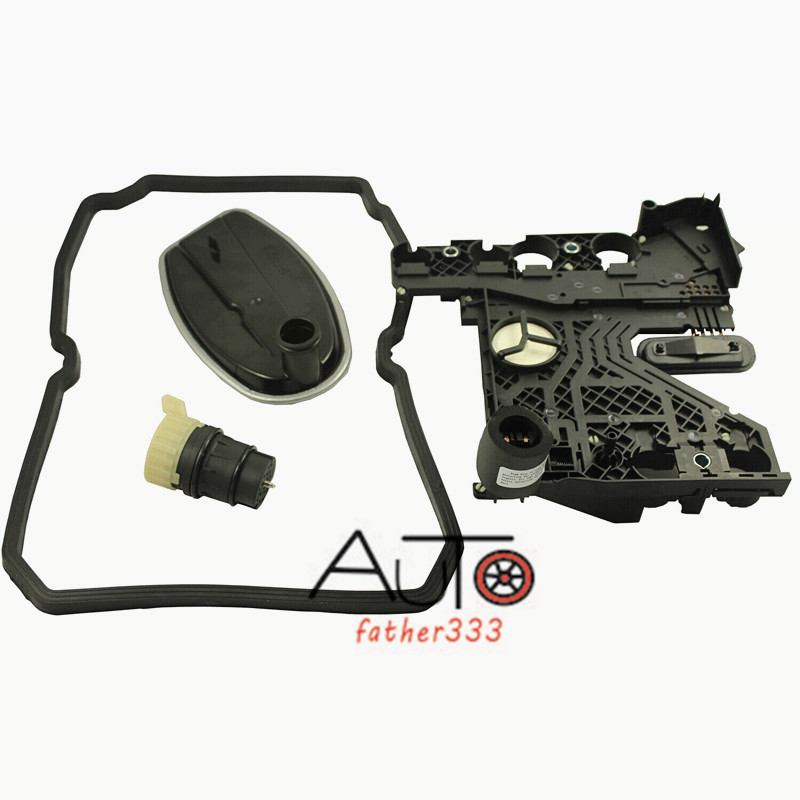 Transmission Conductor Plate+Connector+Filter+Gasket Kit fit Mercedes Benz 722.6