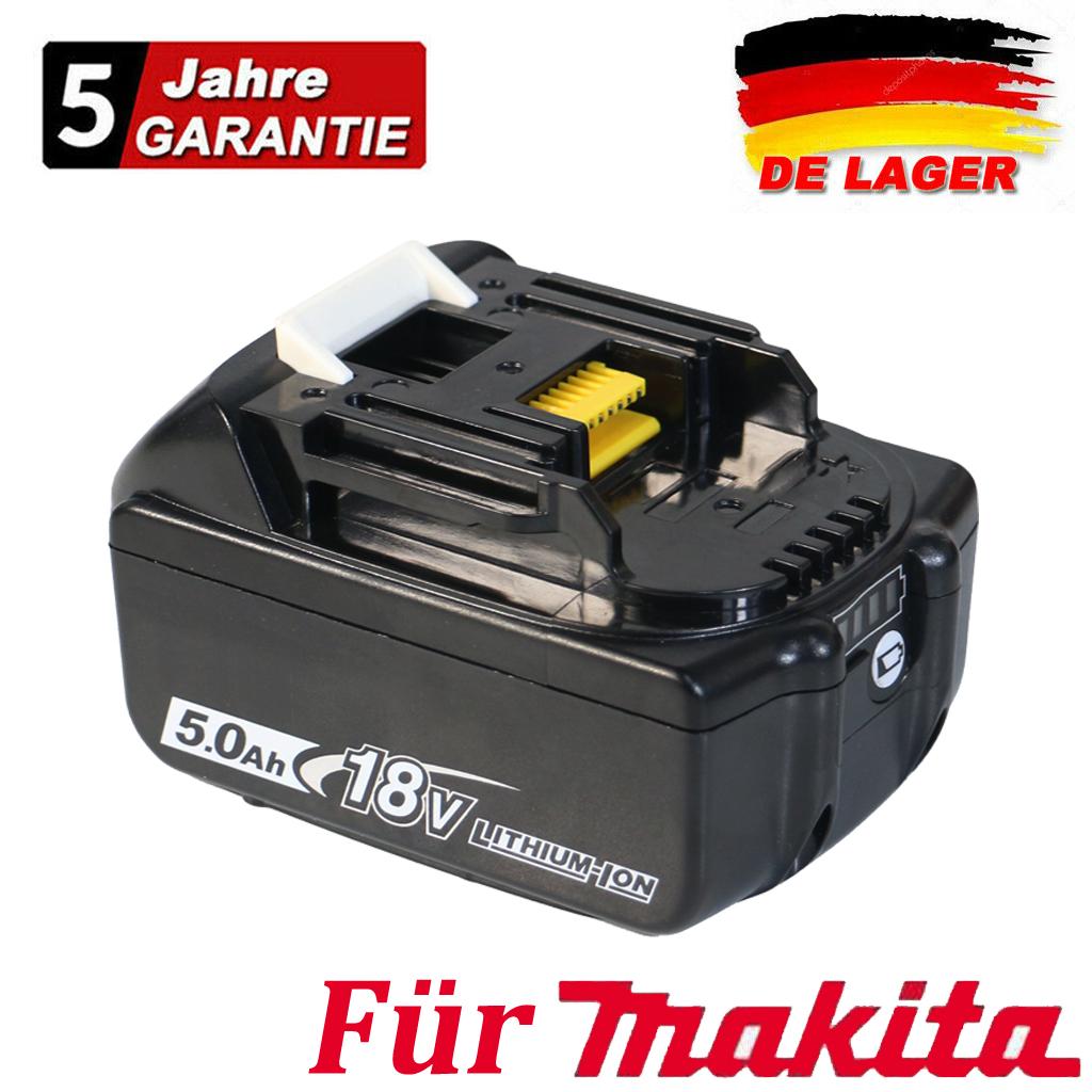 1//2//4x 9,0Ah 6,0Ah 18V Li-ion Akku für Makita BL1830 BL1850 BL1860 LED-Anzeige